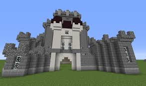 minecraft build tutorial how to make a big castle in survival