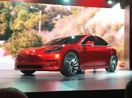 tesla model 3 launch livestream price features pictures