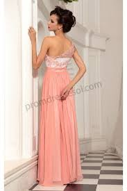 one shoulder lace bridesmaid dresses orange pink lace one shoulder chiffon bridesmaid prom dress