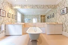 wallpaper bathroom ideas wallpaper for the bathroom small bathroom wallpaper ideas