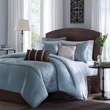 Best 10 Blue Comforter Sets by Eames 10 Pc Comforter Sets Bed In A Bag Pinterest Comforter
