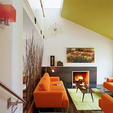 Fruity Orange Sofa Living Room Orange Sofa Living Rooms And Room - Orange living room set