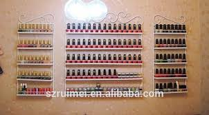 professional wall mounted commercial essie nail polish display