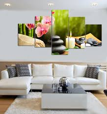 livingroom paintings 5 piece canvas art modern home decoration large living room wall