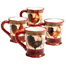 Awesome Coffee Mugs Home Design White And Red Coffee Mugs Set Of 4 Poppin With