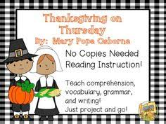 thanksgiving on thursday no copies reading magic