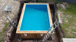 petite piscine enterree piscine bois semi enterrée 19 messages