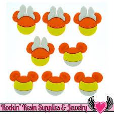 disney minnie u0026 mickey mouse halloween candy corn heads licensed