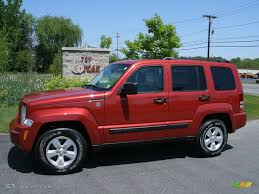 red jeep liberty 2010 2010 sunburst orange pearl jeep liberty sport 4x4 30367711 photo 3