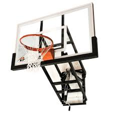 Adjustable Basketball Hoop Wall Mount Ryval Hoops Wm60 Wall Mounted Basketball Hoop System With 60 Inch