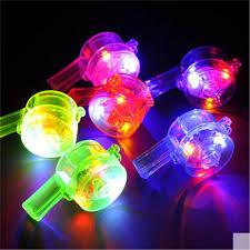 led light up toys wholesale led whistle flashing colorful whistle light up toys joke evening