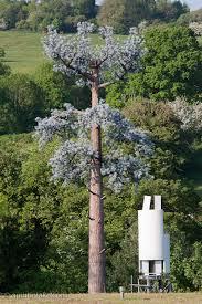 sculpture false tree mobile phone mast antenna tower