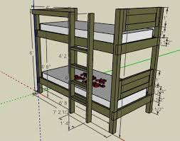 Bunk Bed Design Plans 52 Awesome Bunk Bed Plans Mymydiy Inspiring Diy Projects