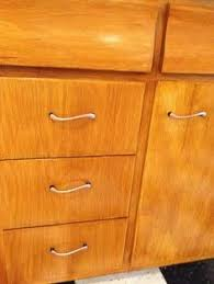 Oak Kitchen Cabinets Restoring Mid Century Wood Cabinets U2014 To Clean And Restore The