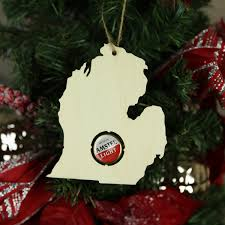 all states available state beer cap map christmas ornament