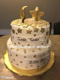 twinkle twinkle little star baby shower cake cake couture by