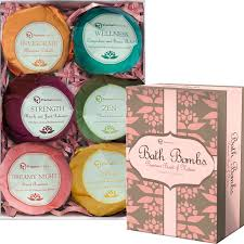 158 Best Beautiful Baths Images Bath Bombs Gift Set 6 Organic Essential Oil Handmade Spa Fizzies