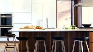 chaise pour ilot de cuisine table haute ilot central great cuisine ouverte haute de gamme plan