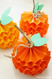 29 and easy thanksgiving craft ideas paper pumpkin diy fall