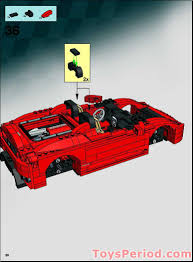 lego ferrari lego 8671 ferrari 430 spider 1 17 set parts inventory and