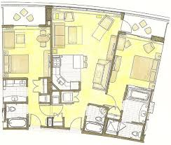 disney bay lake tower floor plan bay lake tower grand villa floor plan thefloors co
