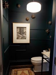 Houzz Powder Room Back Painted Glass Backsplash For Bathroom Ideas Image Of Blue