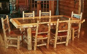 rustic log dining room tables log cabin dining room tables dining room designs