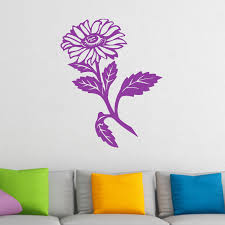 single flower wall sticker world of wall stickers the product is already in the wishlist browse wishlist single flower wall sticker