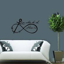 Quot Love Anchors The Soul - new product for love anchors soul removable wall art decal quote
