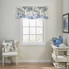 waverly floral engagement floral window valance walmart com