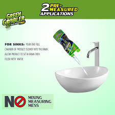 Best Drano For Sink by Amazon Com Green Gobbler Dissolve Liquid Hair U0026 Grease Clog