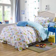 Comforters For Toddler Beds Blue Cartoon Sheep Plant Cotton Bedding Bed Clothes For Kids