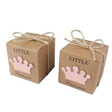 baby shower favor boxes aerwo 50pcs princess baby shower favor boxes