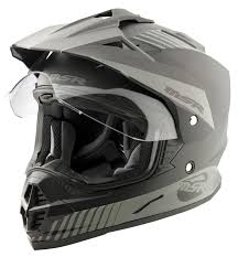 motocross helmet with visor msr xpedition helmet revzilla