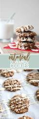 oatmeal cinnamon cookies with maple cream cheese glaze the
