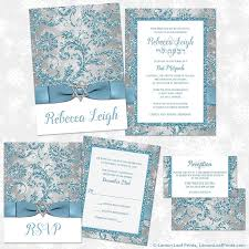 party simplicity winter wonderland bat mitzvah invitations and