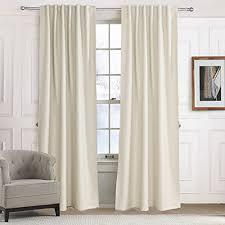 Curtains 100 Length Big Sizes Or Long Length Curtains Amazon Com