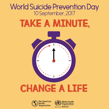 paho who world prevention day 2017 take a minute