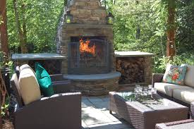 Pictures Of Backyard Fire Pits Outdoor Fireplace Vs Fire Pit