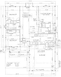 residential floor plan tyl construction table of contents page