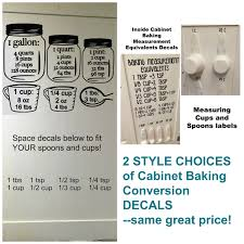 Measuring Kitchen Cabinets Baking Measurement Equivalent Decals No Worries About Ruining
