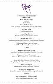 hawaiian fusion cuisine 1 of 5 price lists menus roy s restaurant woodland