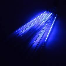 meteor shower led light string ac 100 240v to dc 5v 50cm 8