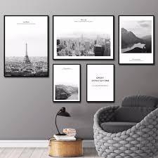online get cheap wall picture paris black white aliexpress com