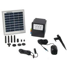 Solar Powered Water Features With Led Lights by Solar Powered Water Fountain Pumps Panels U0026 Kits