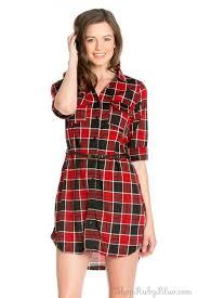 the plaid dress ruby blue boutique