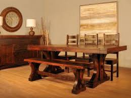 rustic and live edge dining furniture