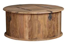 circle wood coffee table jali natural round trunk coffee table trade furniture company