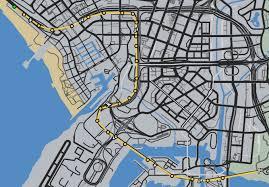 commute map the commute gta wiki fandom powered by wikia