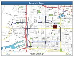Map Of Long Beach Central Long Beach Group B Transportation Issues U0026 Trends